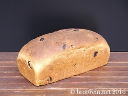 Rosinenbrot - Rosinenstuten backen - Rezept