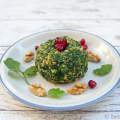 Spinat mit Walnuss - Spinatsalat georgischer Art